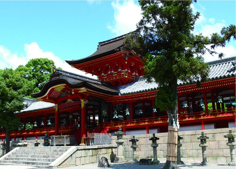 Iwashimizu Hachimangu Shrine,  Yawata City -Special visit to an ancient Shinto shrine-