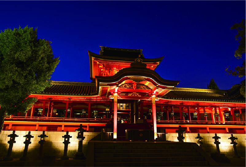 Illuminated Shrine