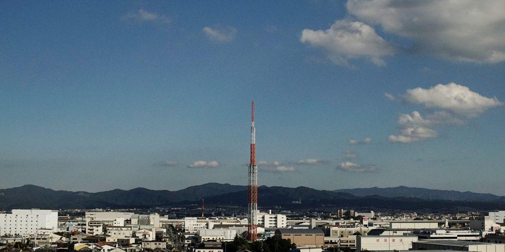 くみやま夢タワー137(KBS京都ラジオ送信所)