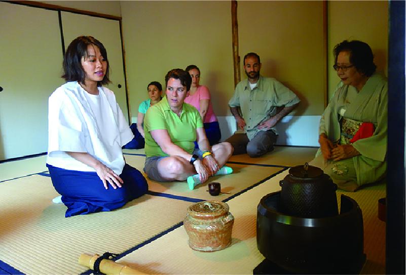 Formal Tea ceremony
