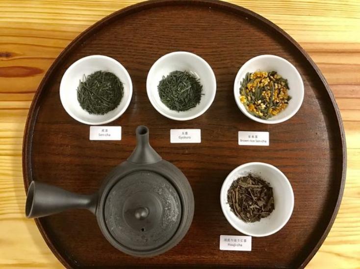 Green Tea Complete Flight Five Types of Green Tea
